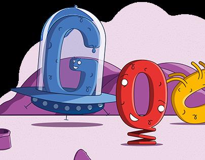 Google Doodle - World UFO day