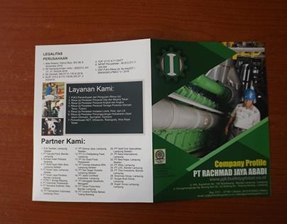 Contoh Desain Company Profile Perusahaan K3
