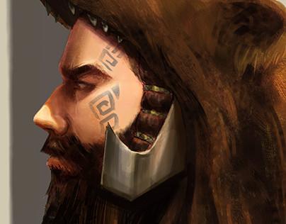Berserker portrait