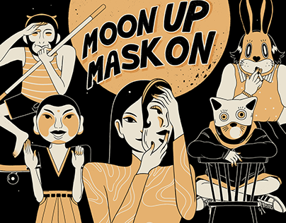 Moon Up Mask On - The Rebels
