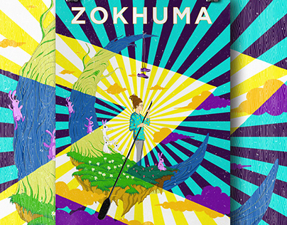ZOKHUMA TOUR POSTER ILLUSTRATION