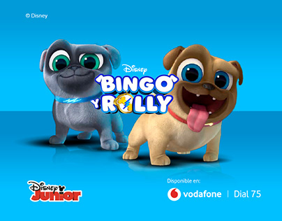 Bingo y Rolly Rich-Branded serpadres site