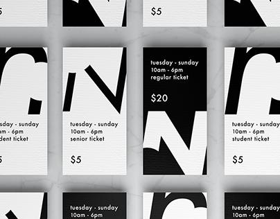 Olafur Eliasson | Exhibition Rebranding