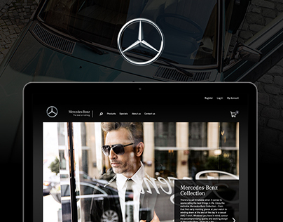 Mercedes-Benz South Africa - Ecommerce website design