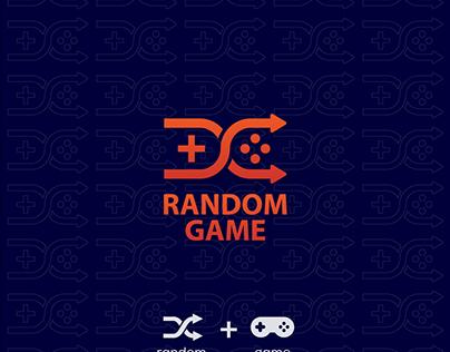 Random + Game logo design