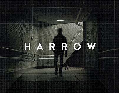 harrow / title treatment
