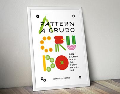 PATTERN A CRUDO