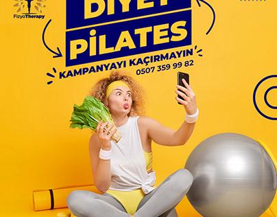 Diet + Pilates offer