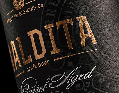 Maldita Barrel Aged Craft Beer
