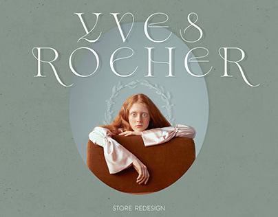 E-commerce. Yves Rocher Store Redesign