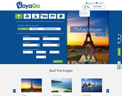 Web Design - VoyaGo agency