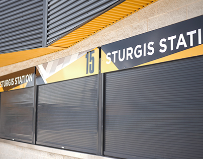 Stadium Concession Signage Redesign