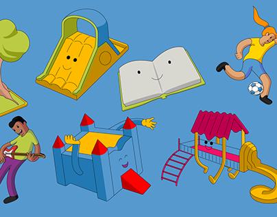 Ilustrações - Projeto Display