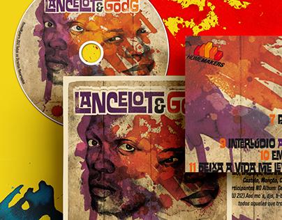 Lancelot e God G MUSIC ALBUM COVER -ILLUSTRATION