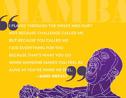Kobe Day Poster
