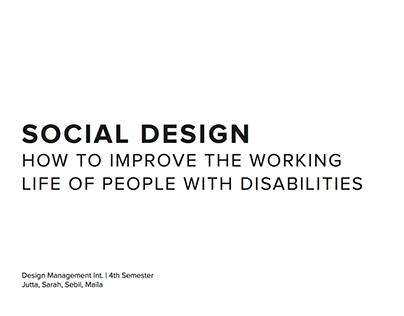 Social Design Project – Pro Infirmis
