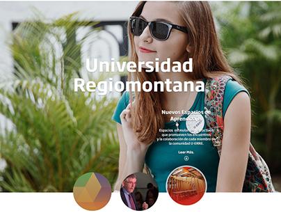 U-ERRE. Universidad Regiomontana.