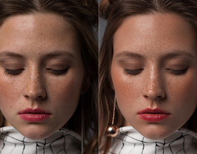 before&after beauty retouching