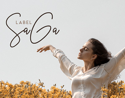 Visual Identity and Branding for Label SaGa