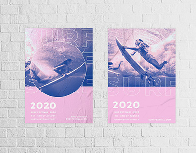 Surf Festival Posters
