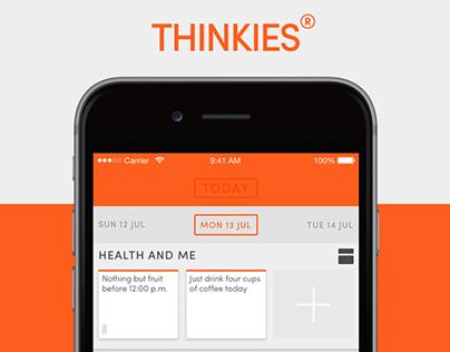 THINKIES® – The Work-Life Balance App