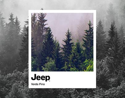 Jeep Pantone.
