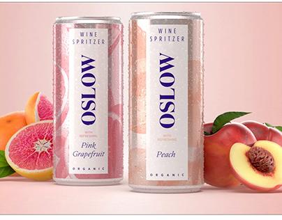 Fruit & Botanical Illustrations for Oslow Wine Spritzer