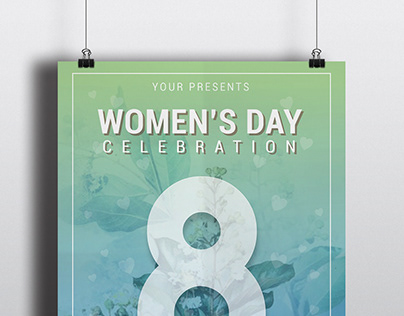 Women's Day poster - FREE
