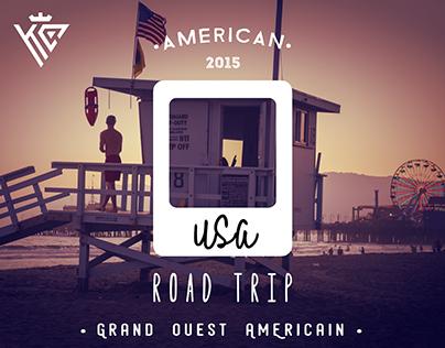 USA - Polaroid - Road Trip