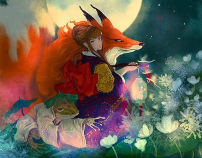 The Gumiho and the Moon princess