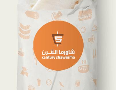 Century Shawerma Branding