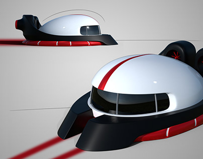 Hover Craft Design and rendering