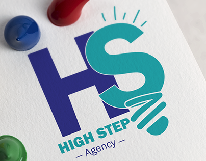 #identity_design #logo_design #high_step