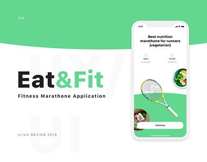Eat&Fit IOS App