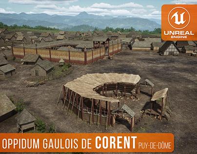 Gallic Oppidum of Corent (Puy-De-Dôme, France) [UE4]