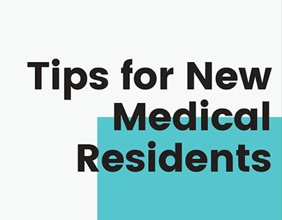Slideshow: Tips for New Medical Residents