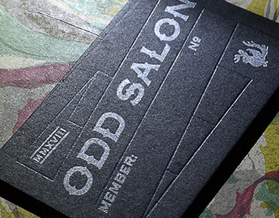 Odd Salon Card