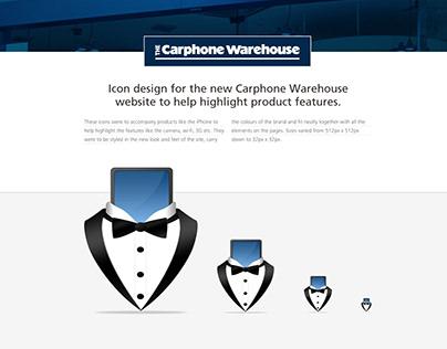 Carphone Warehouse Icons