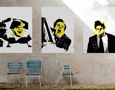 Chris Farley Poster Series
