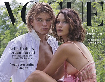 Vogue Australia September Cover Shoot