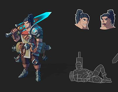 Warrior-traveler concept