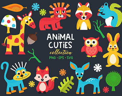 Animal Cuties collection