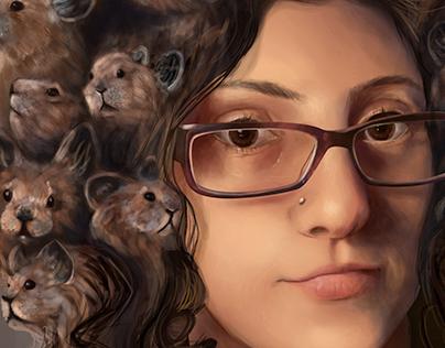 Sci-Fi Self Portrait