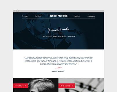 Yehudi Menuhin: official website