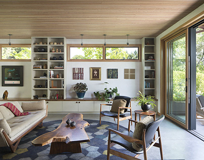 Cozy Home by Feldman Architecture