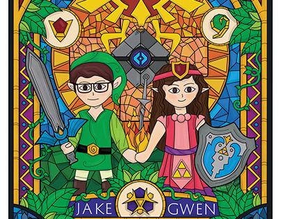 Zelda Style - Fan Art Poster