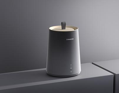 Humidifier rendering