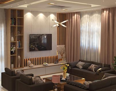 modern reception design in zagazig city