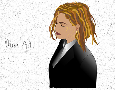 Christine and the Queens by Mona Art