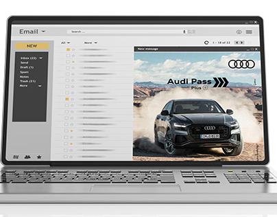 Emails Audi Pass da Audi Center Sorocaba